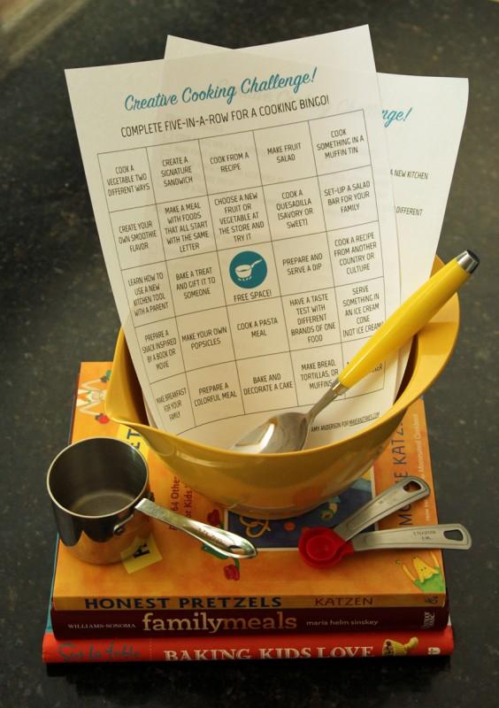 Creative Kids Cooking Challenge