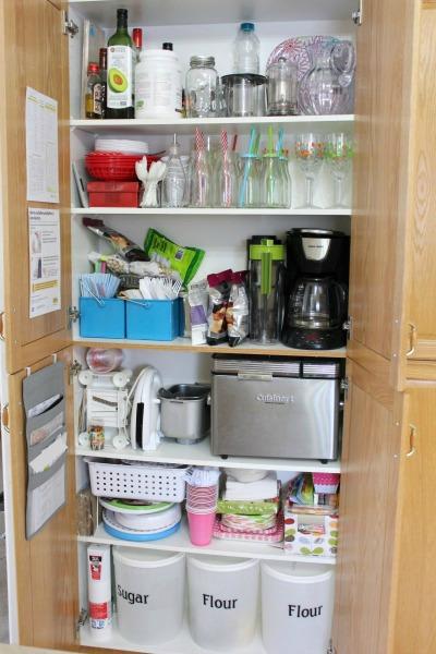 kitchen storage before