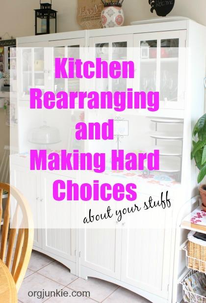 Kitchen Rearranging