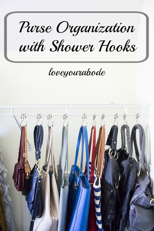 Easy And Inexpensive Way To Organize All Your Purses At Iu0027m An Organizing  Junkie