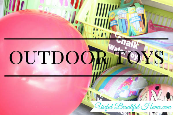 7 kids zones for spring cleaning - outdoor toys