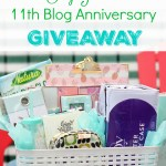 11th Blog Anniversary GIVEAWAY!