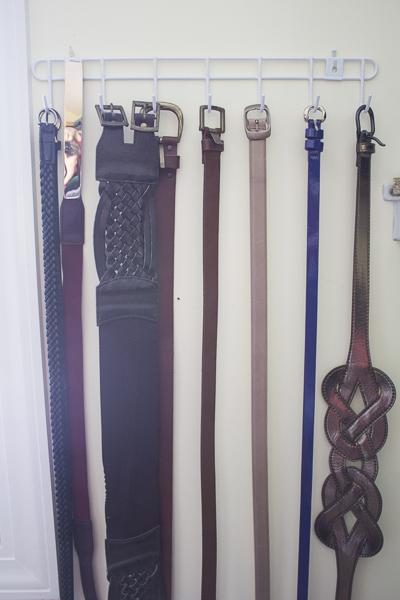3 Ways to Organize Accessories - Jewelry, Ties & Belts