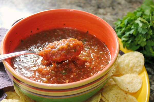 Quick Homemade Salsa recipe