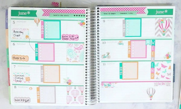 Why I Use a Paper Planner over an Electronic Planner at Im an Organizing Junkie blog
