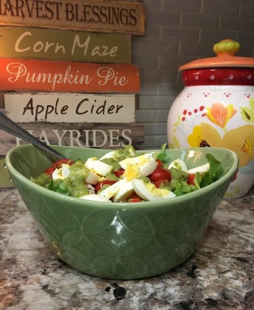 pretty salad bowls from Costco