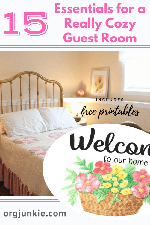 15 Essentials for a Really Cozy Guest Room