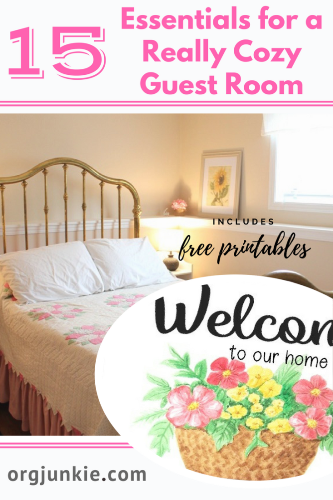 15 Really Cute Kittens: 15 Essentials For A Really Cozy Guest Room & Free Welcome
