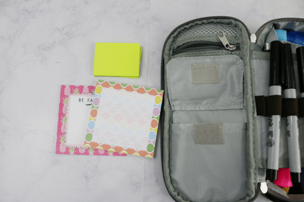 How I Organize My Bag With Pouches - simple and easy at I'm an Organizing Junkie blog