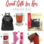 My Favorite Gifts for Her Under $50 ~ 2017 Gift Guide + Giveaway!