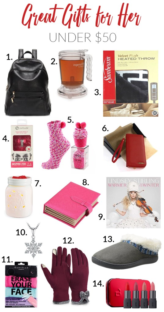 Great Gifts for Her Under $50 - I'm an Organizing Junkie's 2017 Gift Guide and Giveaway!
