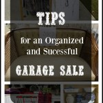 8 Tips for an Organized and Successful Garage Sale