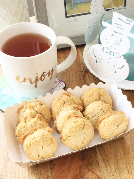 Paleo Lemon Cookies