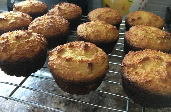 "Paleo ""Cornbread"" Muffins - 1st batch oops"