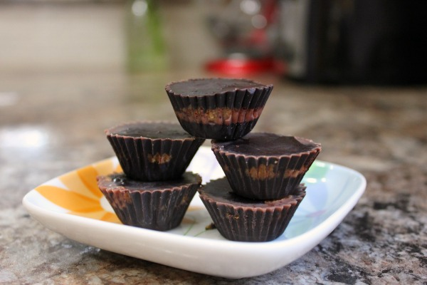 Homemade Almond Butter Cups