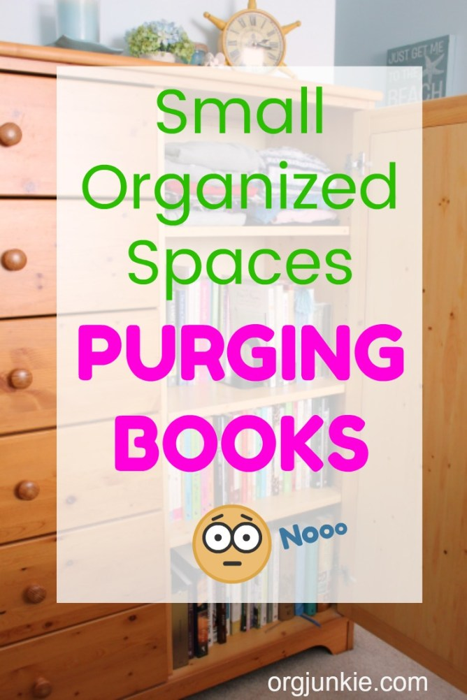Organizing Projects to Do While Social Distancing at Home ~ books