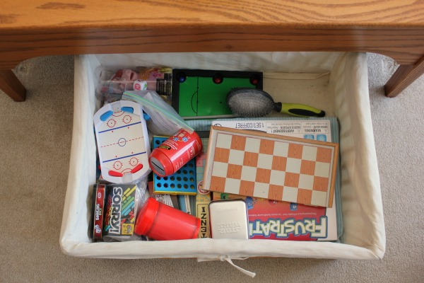 coffee table basket games