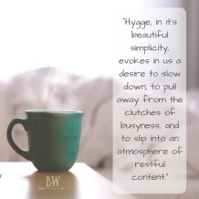 Overcome Busyness with Hygge
