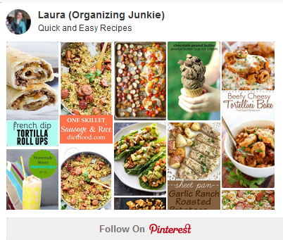 Pinterest Board - Quick and Easy Recipes