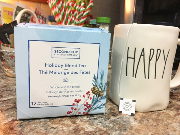 Second Cup Holiday Blend Tea