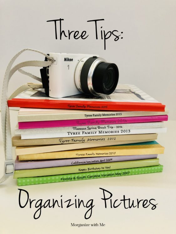 Three Tips for Organizing Pictures and Preserving Your Family Memories at I'm an Organizing Junkie blog