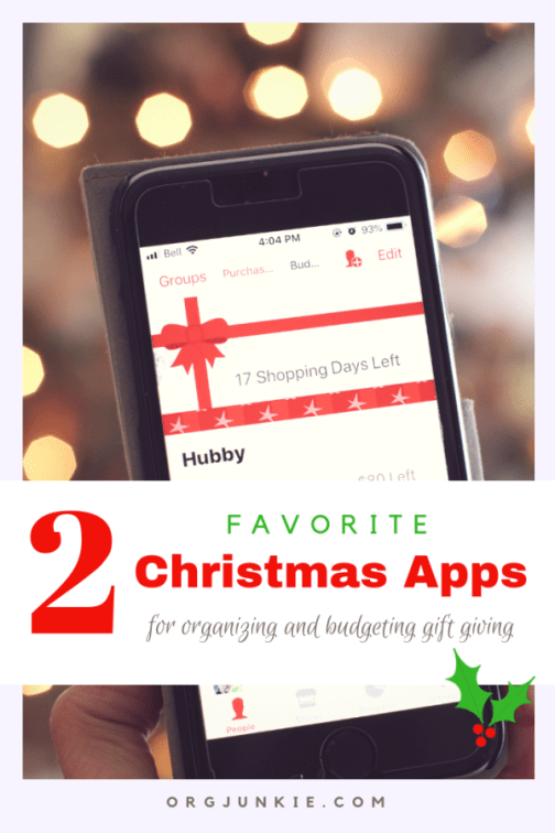 My Two Favorite Christmas Apps