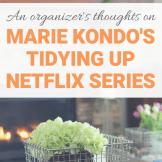 Marie Kondo Tidying Up