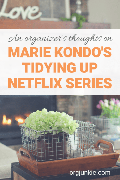 Marie Kondo's Tidying Up Series