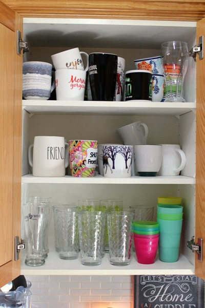 Friends Don't Let Friends Have Cupboards Without Wire Shelves! at I'm an Organizing Junkie