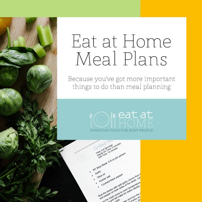 Join Me Next Week for the Eat at Home Dinner Challenge