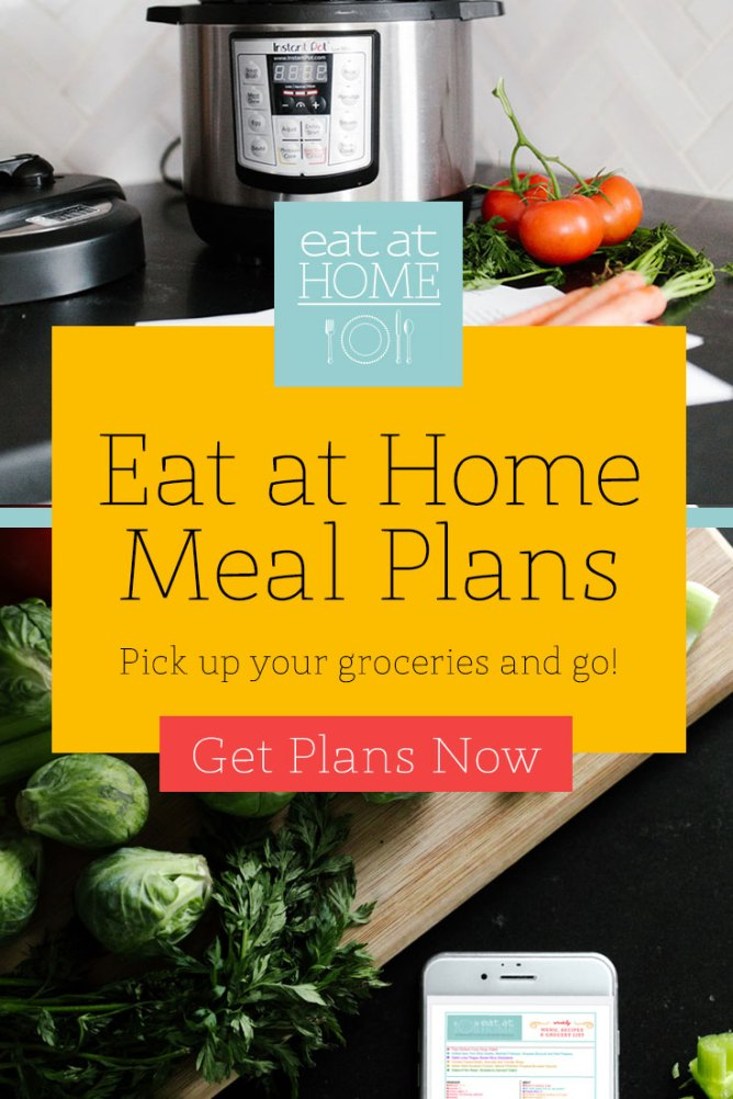 Join Me Next Week for the Eat at Home Dinner Challenge at I'm an Organizing Junkie blog