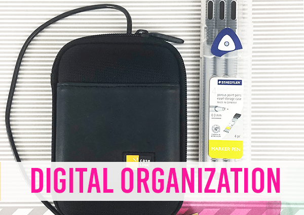 Four Digital Organization Tasks to Do Today to Save Your Sanity at I'm an Organizing Junkie blog