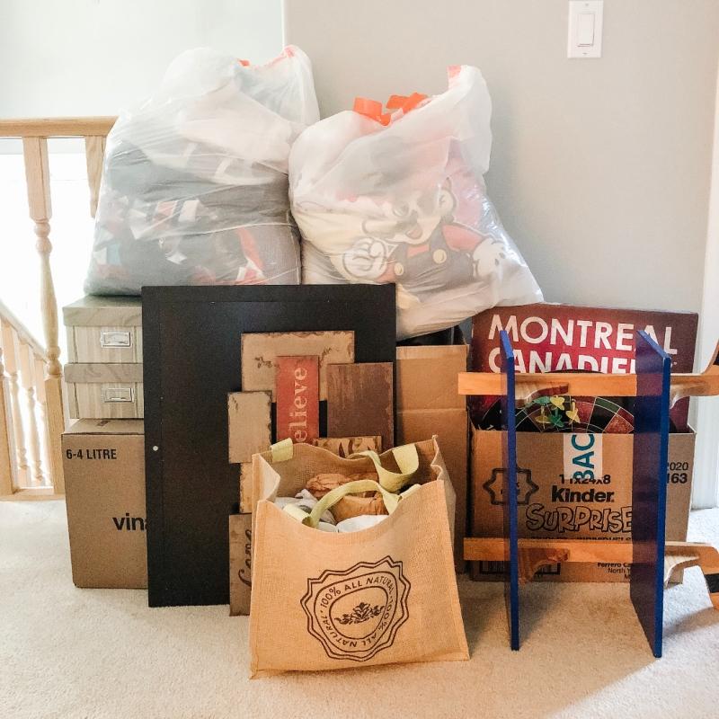 September 2019 purge pile