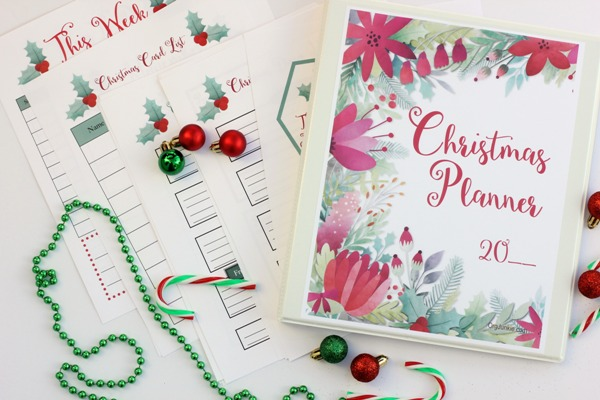 Soon to be released free printable Christmas Planner