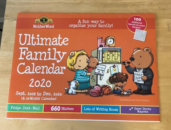 Dec 2019 monthly recap - Ultimate Family Calendar 2020