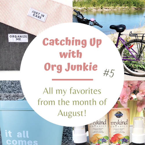 Catching Up with Org Junkie #5