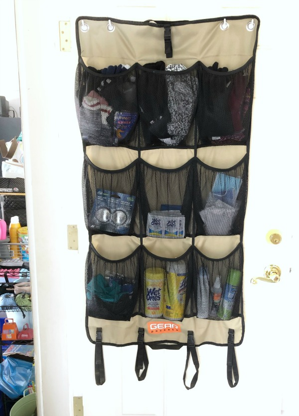shoe organizer sanitation station