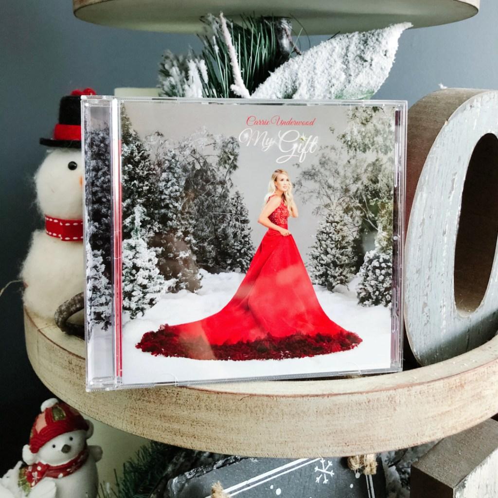 November 2020 Favorites ~ Carrie Underwood My Gift Christmas CD