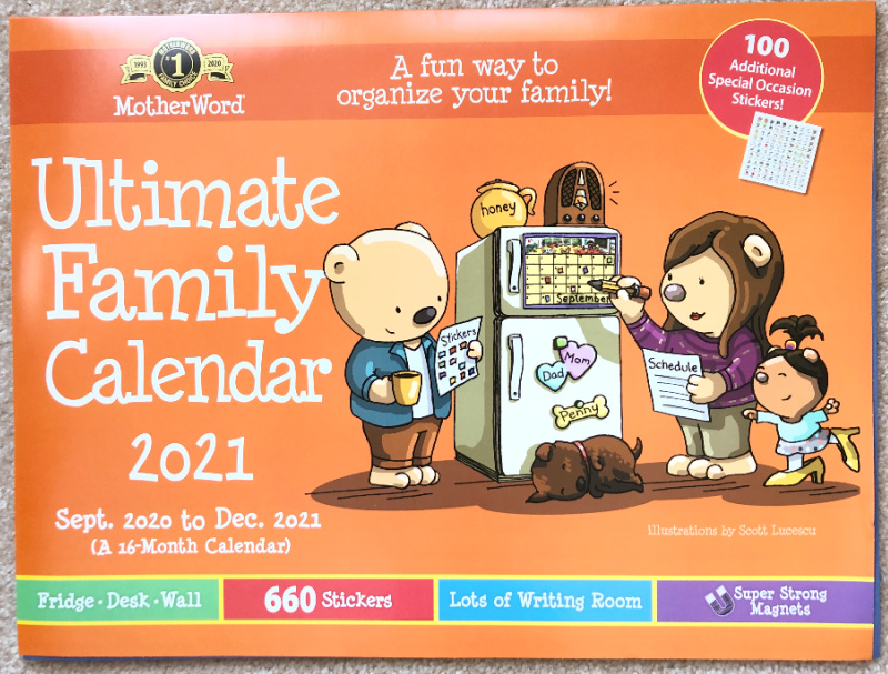 2021 Ultimate Family Calendar