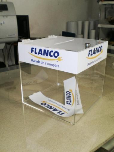 Урна для голосований с брендированием