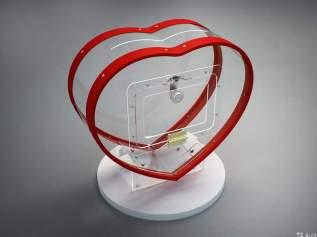Ящик для денег в виде сердца