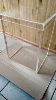 Герметичный короб из 10мм оргстекла