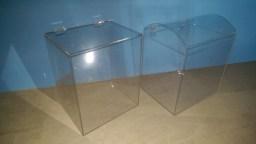 Коробки из прозрачного оргстекла