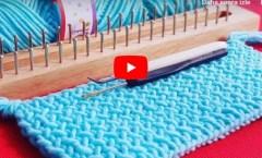 Knitting Board for Beginner Pattern