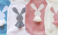 Tavşan Motifli Salopet Tulum Yapımı