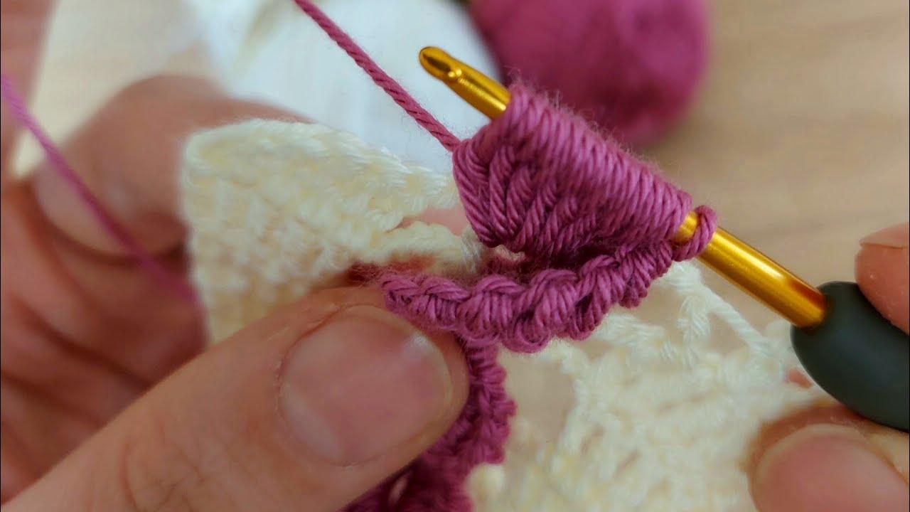 Super Easy Crochet Knit Tığ İşi Modelime Bayılacaksınız