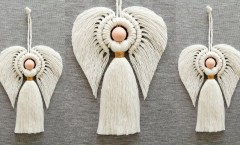 DIY ANGEL en MACRAME (paso a paso) | DIY Macrame Angel Tutorial