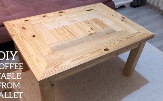 Paletten Sehpa Yapımı Making A Coffee Table From Pallets  Coffee Table Diy  Mesa De Paletes