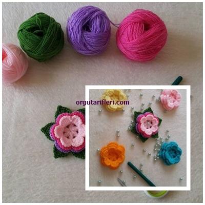 süsleme çiçek motif yapılışı