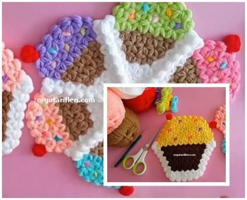 Amigurumi cupcake baby doll pattern free - Knittting Crochet | 404x500